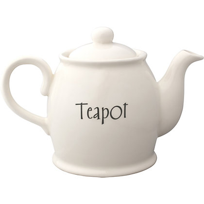 Image for Home of Style Vintage Teapot - Cream from StoreName