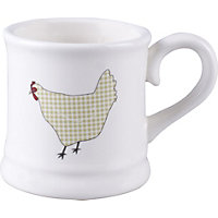 Home of Style Chicken Mug - Green