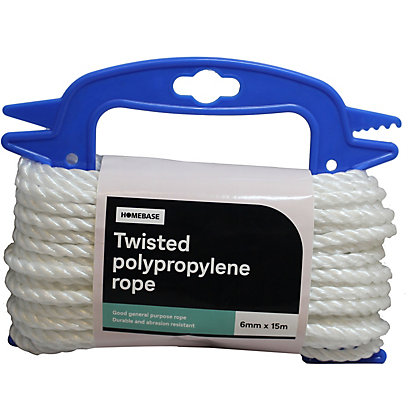 Image for Polypropylene Rope White Handireel - 0.6 x 1500cm from StoreName