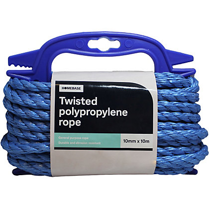 Image for Twisted Polypropylene Rope Blue Handireel – 10mm x 10m from StoreName