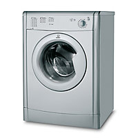Indesit Ecotime IDV75S Tumble Dryer Vented - Silver
