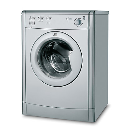 Image for Indesit IDV75S Tumble Dryer Vented - Silver from StoreName