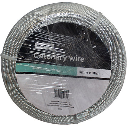 Image for Catenary Wire Galvanised Coil - 0.3 x 3000cm from StoreName
