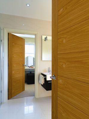 Taurus Oak Finish 30 Minute Fire Resisting Internal Door -