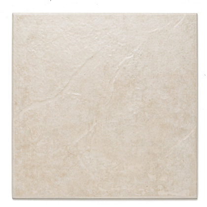 Cuba White Floor Tiles 330 X 330mm 9 Pack