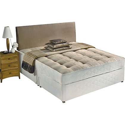 Image for Silentnight McKenna Miracoil 3 Double Divan Bed - 2 Drawer. from StoreName