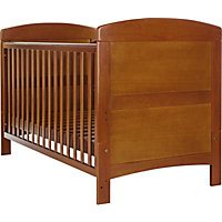 Obaby Grace Cot Bed - Walnut.