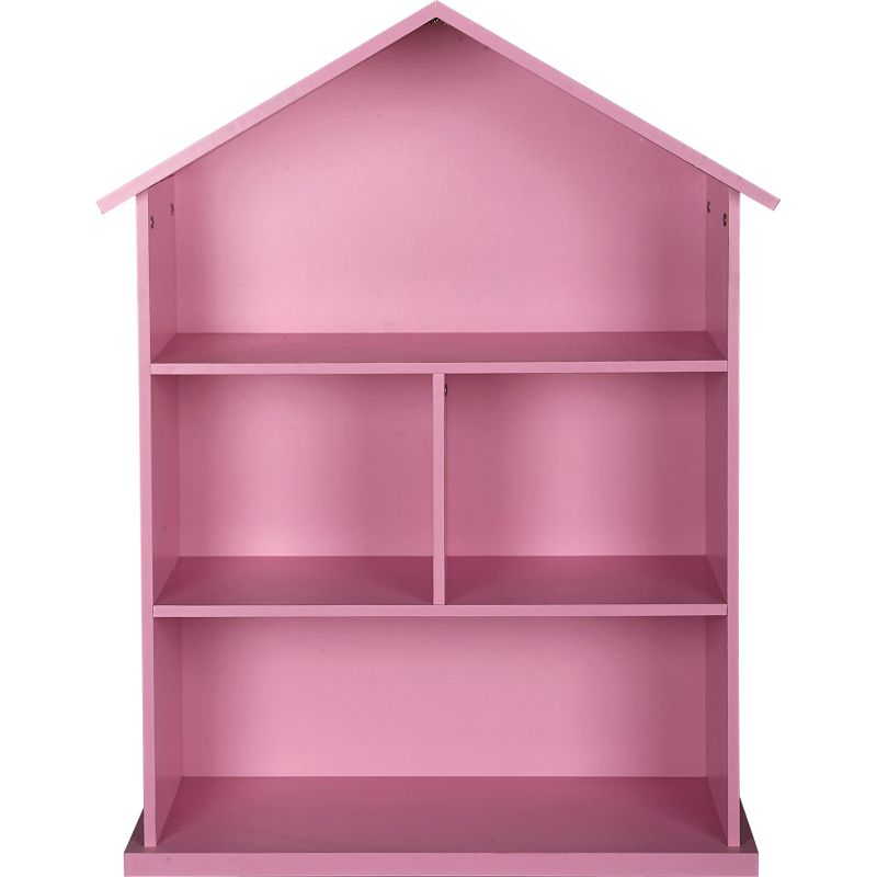 Mia Dolls House Bookcase Pink