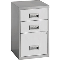 Pierre Henry 3 Drawer Combi Filing Cabin