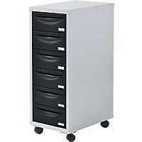 Pierre Henry 6 Drawer Multi Filing Cabin