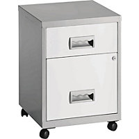 Pierre Henry 2 Drawer Combi Filing Cabin