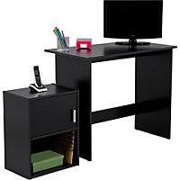 Soho Office Desk and Cabinet Package - B