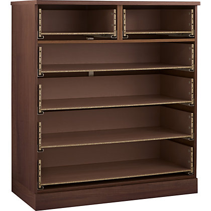 Image for Schreiber 4 plus 2 Drawer Wide Chest - Walnut from StoreName