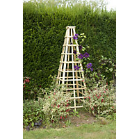 Forest Wooden Obelisk