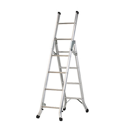 Image for Abru DIY 3 Way Combination ladder from StoreName