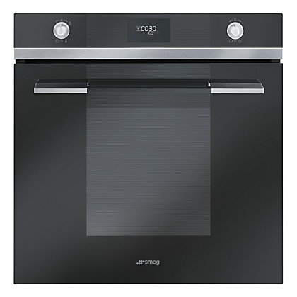 Image for Smeg SF109N Multifunction Oven - Black Glass from StoreName