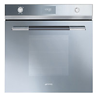 Smeg SF109S Multifunction Oven - Silver Glass