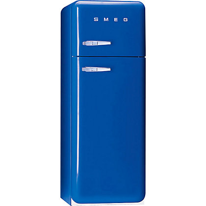 Image for Smeg FAB30RFB Right Hand Hinged Fridge Freezer - Blue from StoreName