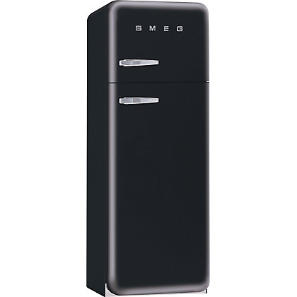Image for Smeg FAB30RFN Right Hand Hinged Fridge Freezer - Gloss Black from StoreName