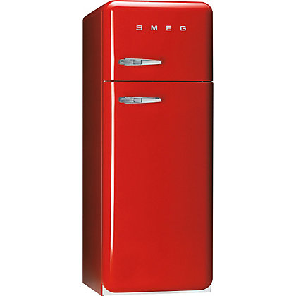 Image for Smeg FAB30RFR Right Hand Hinged Fridge Freezer - Red from StoreName