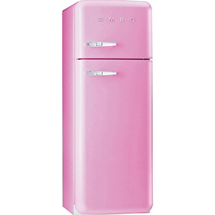 Image for Smeg FAB30RFP Right Hand Hinged Fridge Freezer - Pink from StoreName