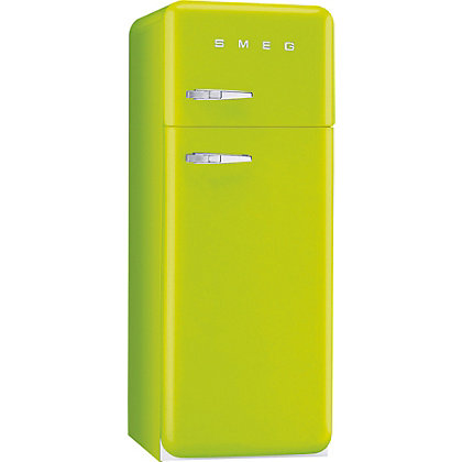 Image for Smeg FAB30RFL Right Hand Hinged Fridge Freezer - Lime Green from StoreName