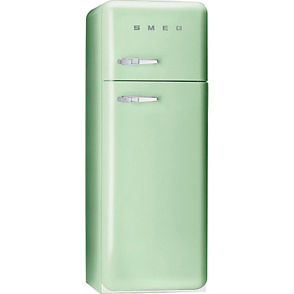 Image for Smeg FAB30RFG Right Hand Hinged Fridge Freezer - Pastel Green from StoreName