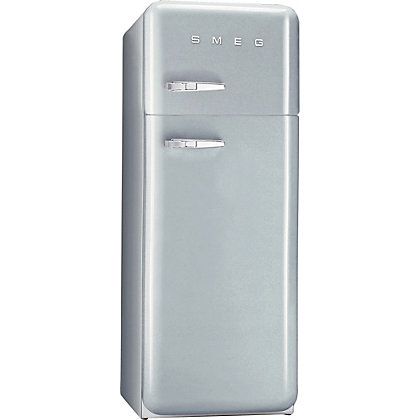 Image for Smeg FAB30RFS Right Hand Hinged Fridge Freezer - Silver from StoreName