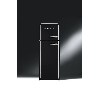 Image for Smeg FAB30LFN Left Hand Hinge Fridge Freezer - Gloss Black from StoreName