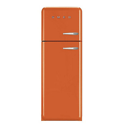 Image for Smeg FAB30LFO Left Hand Hinge Fridge Freezer - Orange from StoreName