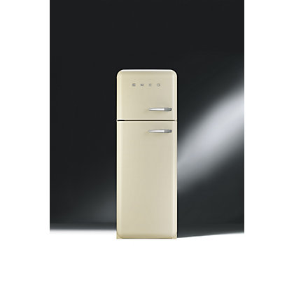 Image for Smeg FAB30LFC Left Hand Hinged Fridge Freezer - Cream from StoreName