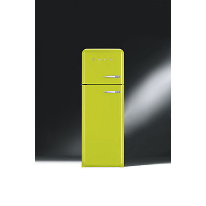 Image for Smeg FAB30LFL Left Hand Hinged Fridge Freezer - Lime Green from StoreName