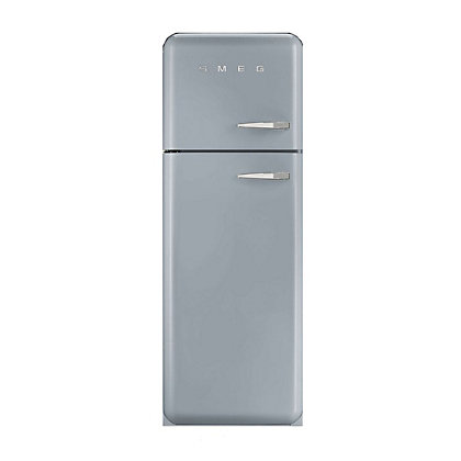 Image for Smeg FAB30LFS Left Hand Hinged Fridge Freezer - Silver from StoreName