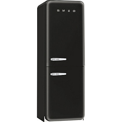 Image for Smeg FAB32RFN Right Hand Hinged Fridge Freezer - Gloss Black from StoreName