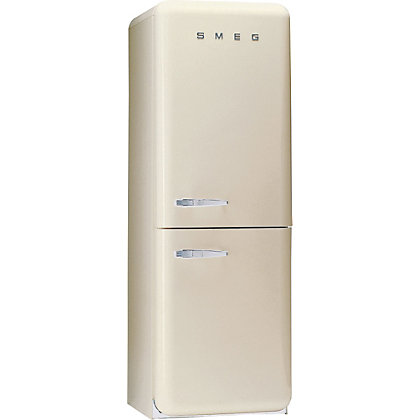 Image for Smeg FAB32RFC Right Hand Hinged Fridge Freezer - Cream from StoreName