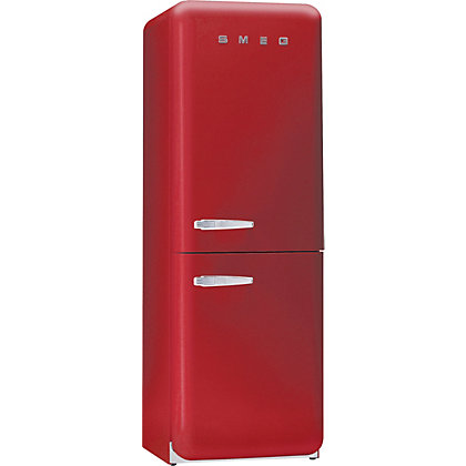 Image for Smeg FAB32RFR Right Hand Hinged Fridge Freezer - Red from StoreName