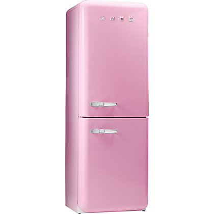 Image for Smeg FAB32RFP Right Hand Hinged Fridge Freezer - Pink from StoreName