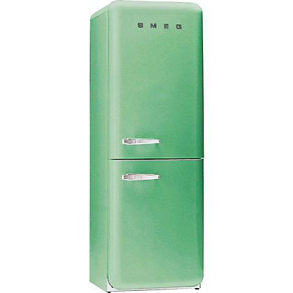 Image for Smeg FAB32RFG Right Hand Hinged Fridge Freezer - Pastel Green from StoreName