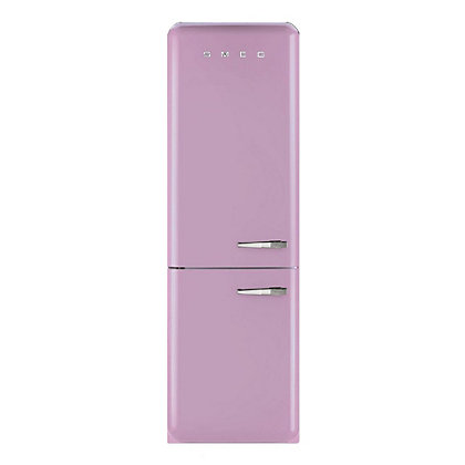 Image for Smeg FAB32LFP Left Hand Hinged Fridge Freezer - Pink from StoreName