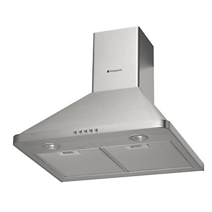 Image for Hotpoint HHP65cm Chimney Hood - Stainless Steel from StoreName