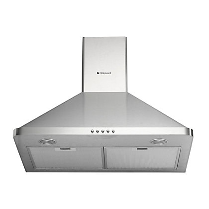 Image for Hotpoint HHP75CM Chimney Hood - Stainless Steel from StoreName