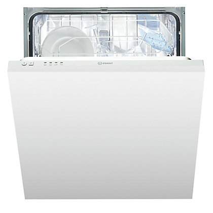 Image for Indesit Ecotime DIF 04B1 Built-in Dishwasher - White from StoreName