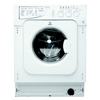 Indesit Ecotime IWME 127 Built-in Washing Machine - White