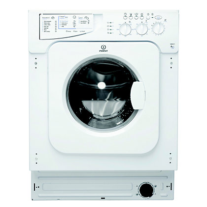 Image for Indesit Ecotime IWME 127 Built-in Washing Machine - White from StoreName