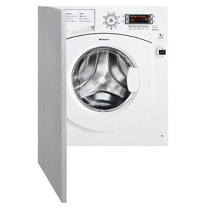 Image for Hotpoint Ultima BHWMD 742 Built-in Washing Machine - White from StoreName
