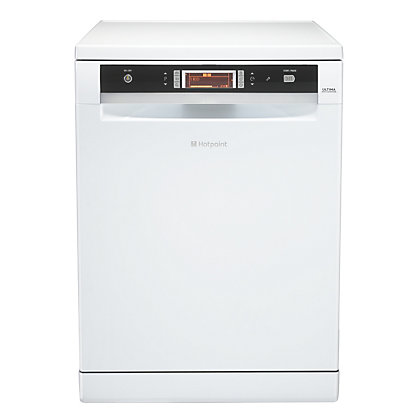 Image for Hotpoint Ultima FDUD 44110 P Dishwasher - White from StoreName