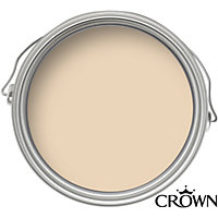 Crown Breatheasy Solo Biscotti - One Coat Matt Emulsion Paint - 40ml Tester