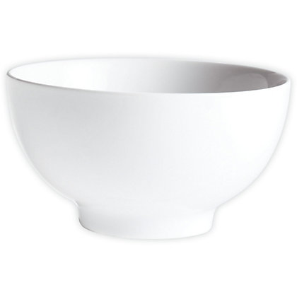 Image for Cereal Rice Porcelain Bowl - White - 15cm from StoreName