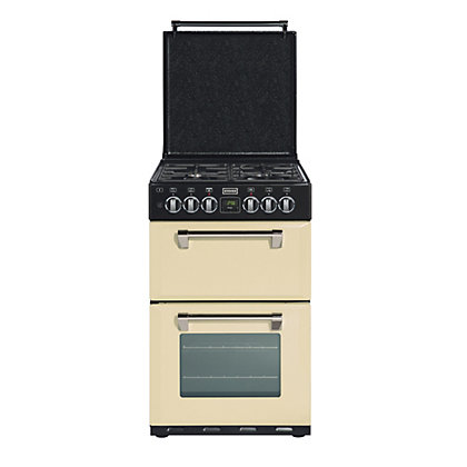 Image for Stoves Richmond 550DFW Dual Fuel Cooker - Champagne from StoreName