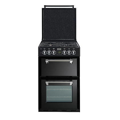 Image for Stoves Richmond 550DFW Dual Fuel Cooker - Black from StoreName